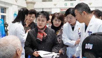 北京宣武医院华杨教授指导医院卒中中心建设