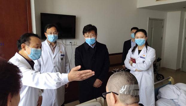 山东港口烟台港集团姜开总经理来院指导工作