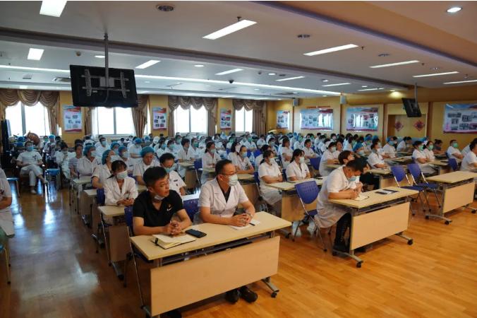 应变局、布新局、谋新篇——烟台海港医院召开第八届二次职代会