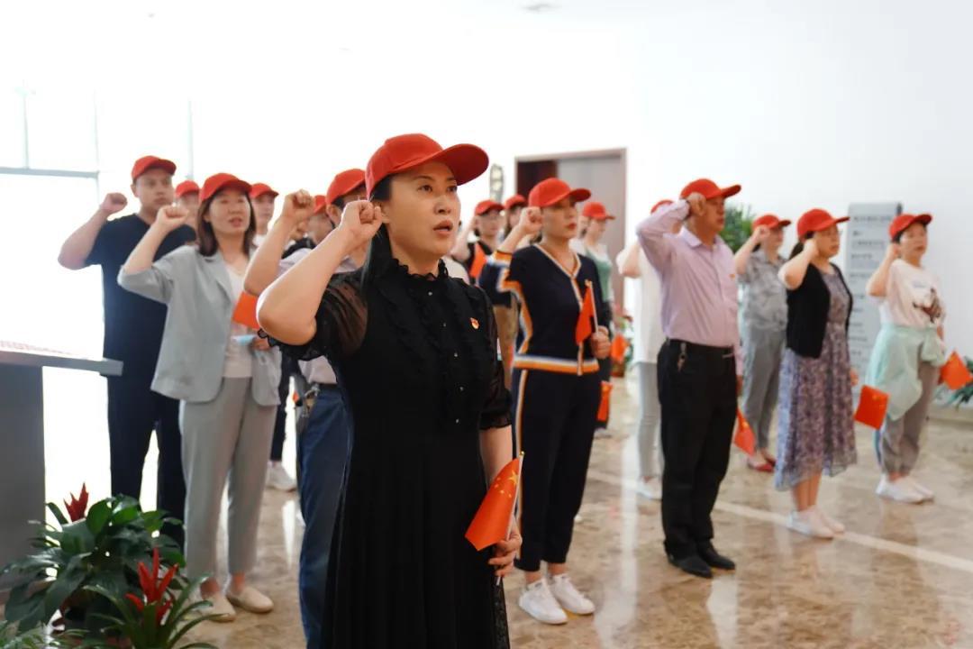 烟台海港医院赴海阳开展党史学习教育主题 党日活动