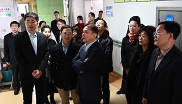 中国通用技术集团谢彪副总经理来院调研工作