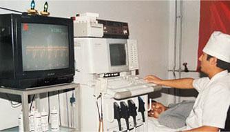 美国产ACUSON128—XP彩色电脑影像仪1993年7月